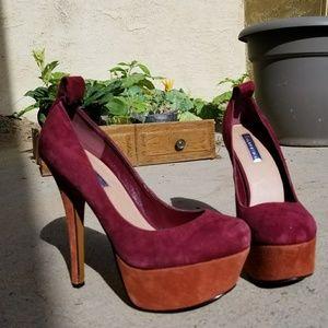 H by Halston Platform Heels Size 7
